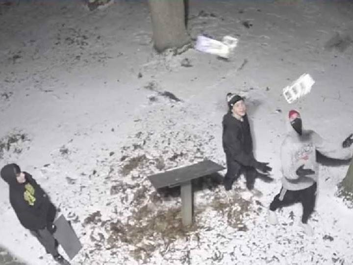 Sheboygan County Sheriff's Department looking for help catching vandals