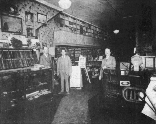 A Norberg store at 106 S. Main in Sioux Falls. The store was in operation from 1922-35.