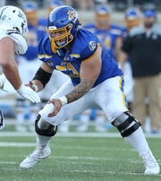 Tiano Pupungatoa was named to the All-America team for South Dakota State this season