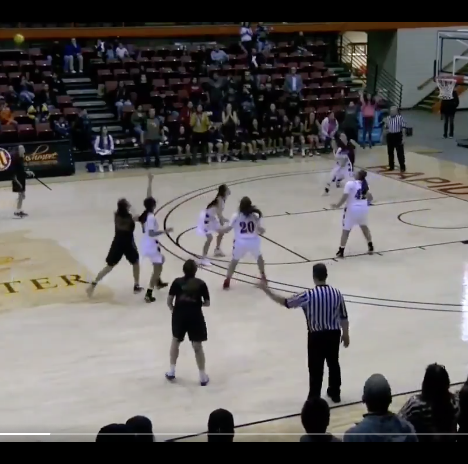 Lower Brule's Maleighya Estes hits circus buzzer-beater in OT