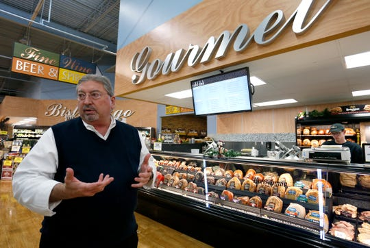 Pyramid Foods Chief Operating Officer Scott Miller talks about the plans to renovate the Price Cutter on East Battlefield Road after Ruby's Market on Sunshine Street closes and moves into the Price Cutter later this month.