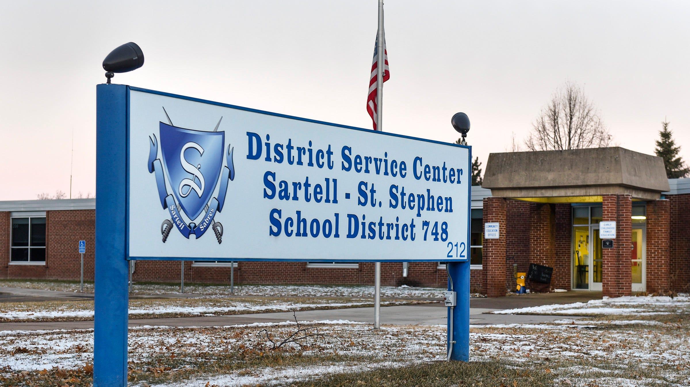 The Sartell-St. Stephen School District Service Center shown Thursday, Dec. 13, in Sartell.