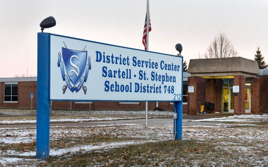 The Sartell-St. Stephen School District Service Center shown Thursday, Dec. 13, in Sartell.