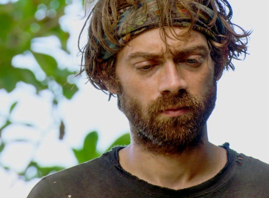 """Survivor"" episode 12: FAMU/FSU professor Christian Hubicki competes in a challenge."