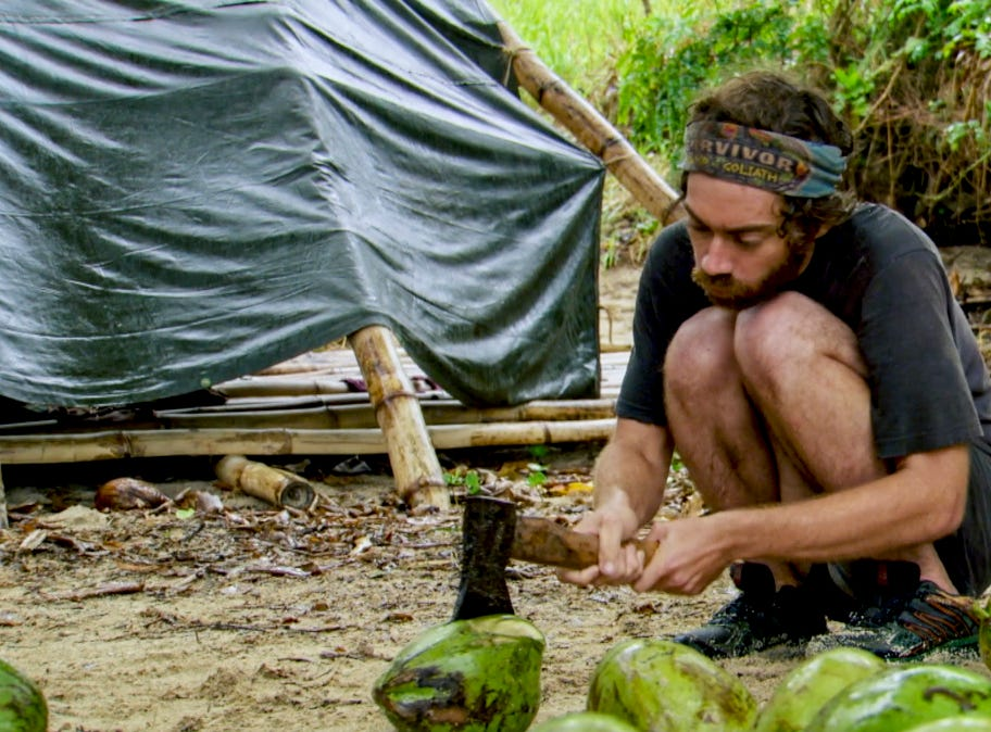 """Survivor"" episode 13:  FAMU/FSU professor Christian Hubicki"