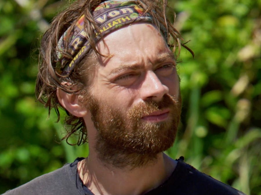 """Survivor"" episode 11:  FAMU/FSU robotics professor Christian Hubicki participates in a challenge."