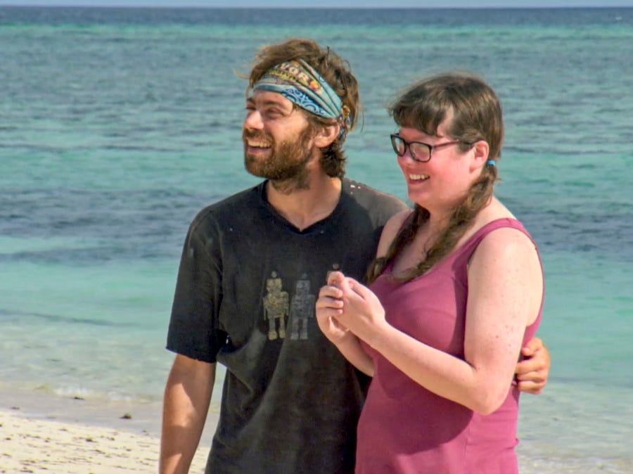 """Survivor"" episode 12: FAMU/FSU professor Christian Hubicki gets to spend a few minutes with his loved one."