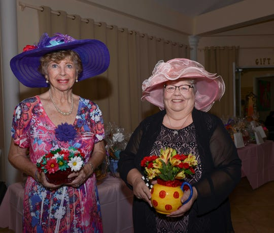 Most Festive Hats- Fran Jones and Karen Bechtold