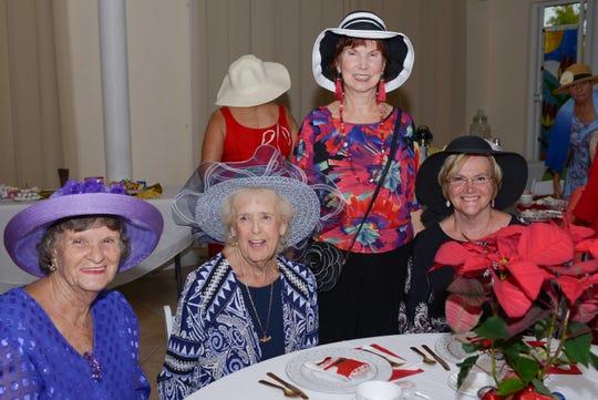 Elaine Leming, Evelyn Gilliland, Rita Johns and Diane Kemp