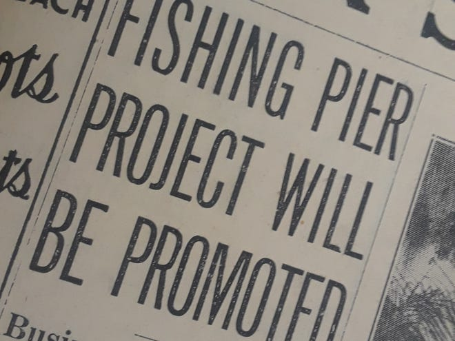 Council looks into ocean fishing pier in 1939.