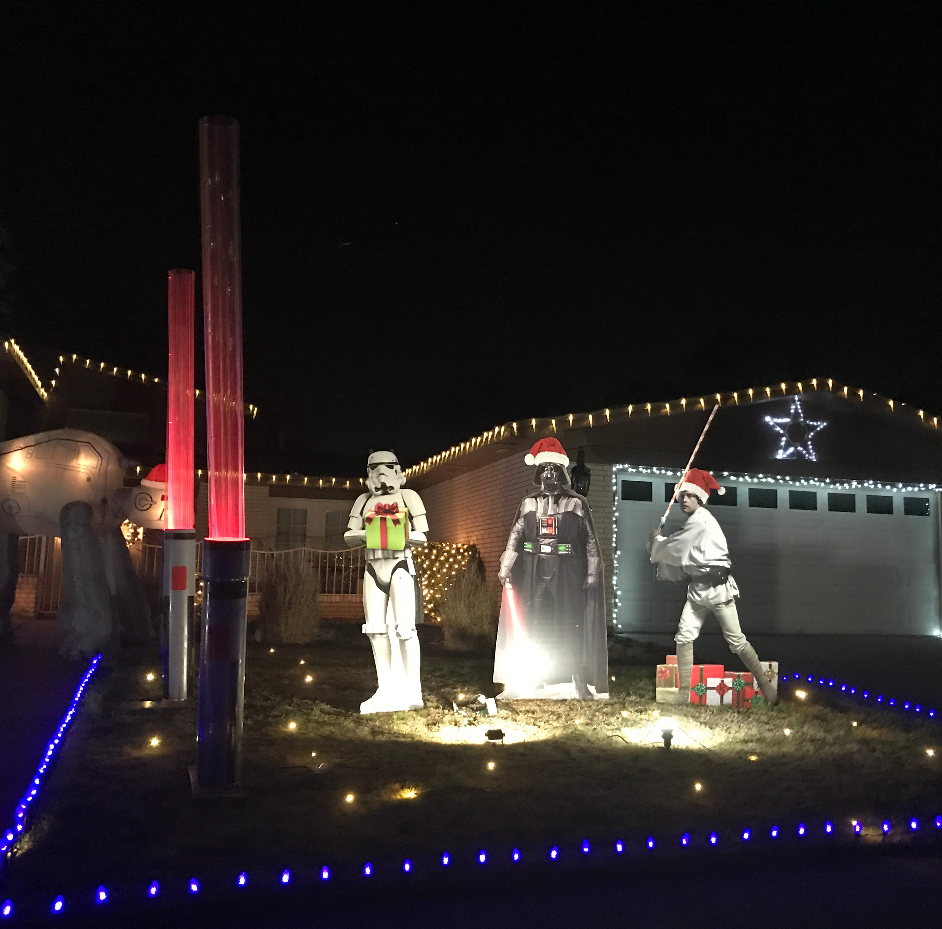 Christmas traditions in El Paso include seeing Eastridge, Fred Loya light shows
