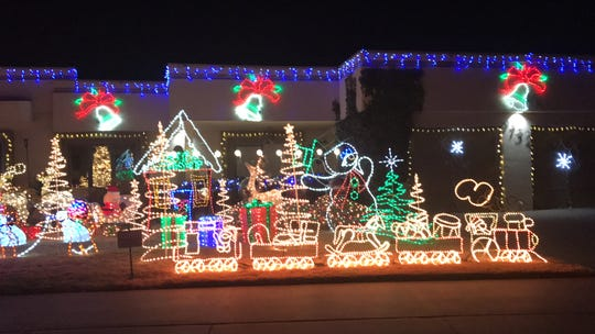 The Eastridge neighborhood continues its holiday tradition of decking homes in thousands of lights.