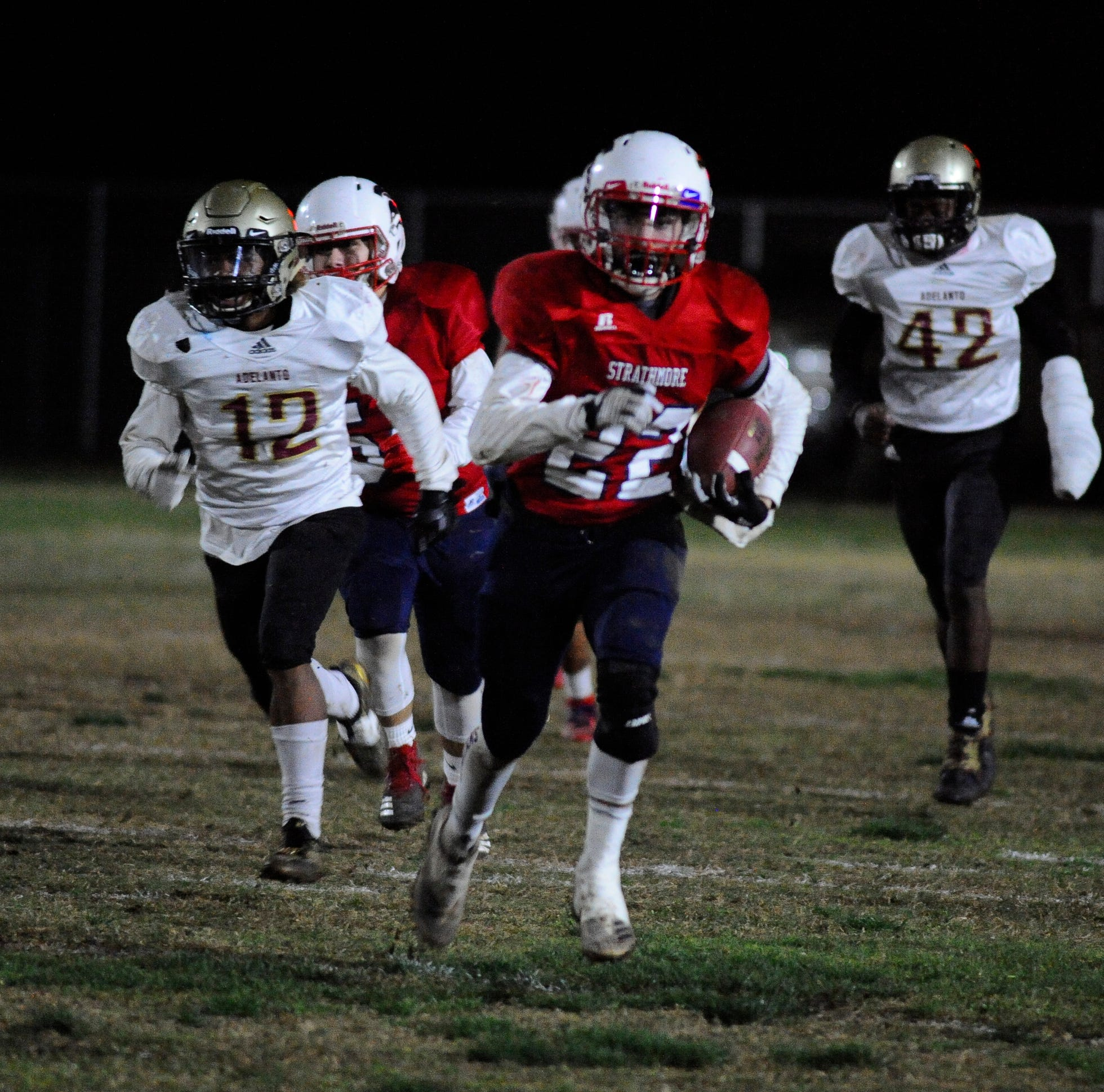 This Strathmore RB was asked to replace a 6,000-yard rusher. He responded by scoring 34 TDs.