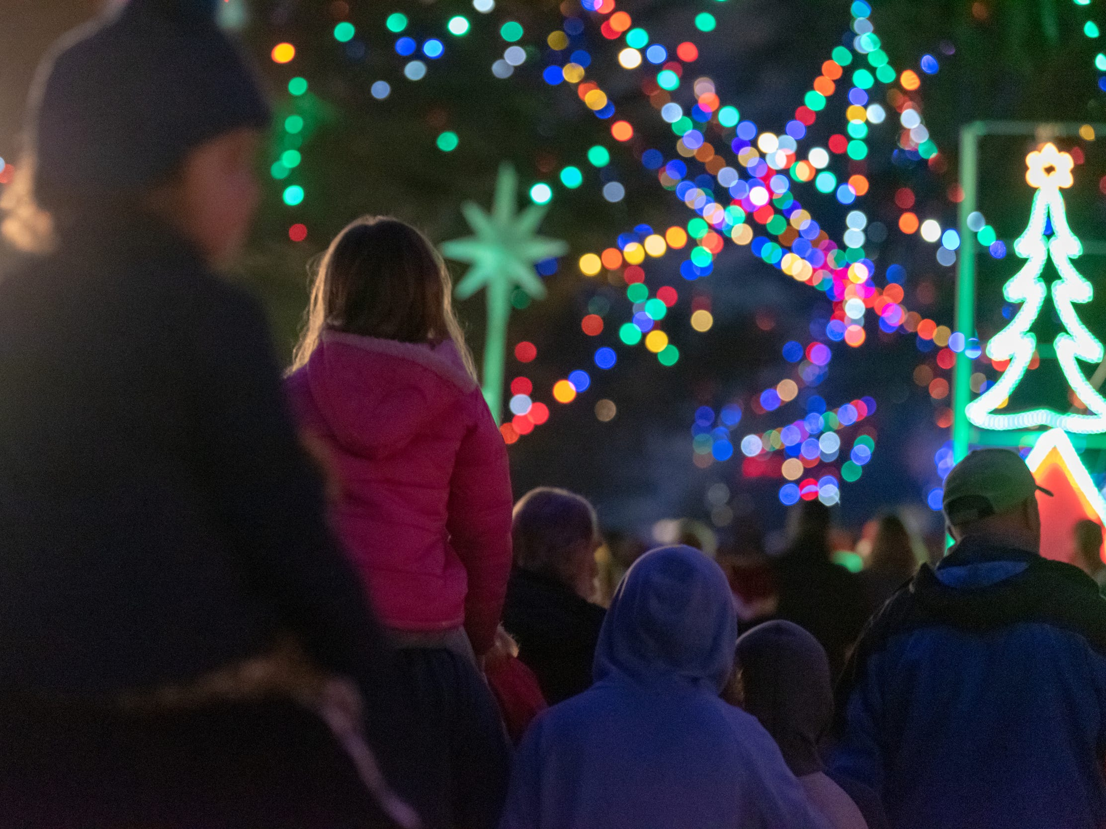 Thousands took advantage of the last walk night of the year for Fresno's Christmas Tree Lane on Tuesday, December 11, 2018. Don't worry, there's still plenty of time to drive it. It's been a tradition since 1922 with no sign of slowing down.