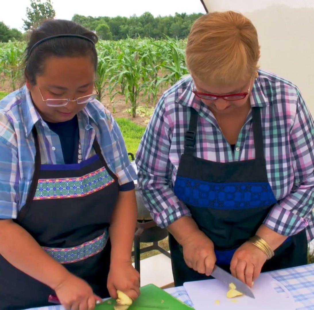 PBS celebrity chef Lidia Bastianich celebrates Wausau-area Hmong culture, food, traditions