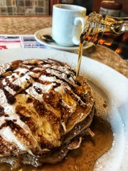 Brownie S'mores Pancake at DD Diner in Ossining. Photographed Dec. 13, 2018.