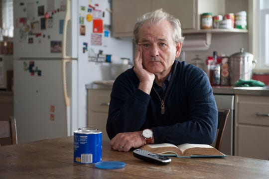 "Bill Murray appears in a scene from ""Olive Kitteridge."" A property once owned by the actor is on the market in Snedens Landing.  Jojo Whilden/AP In this image released by HBO, Bill Murray appears in a scene from ""Olive Kitteridge."" Murray was nominated for a Golden Globe for best supporting actor in a TV movie or mini-series for his role on Thursday, Dec. 11, 2014."