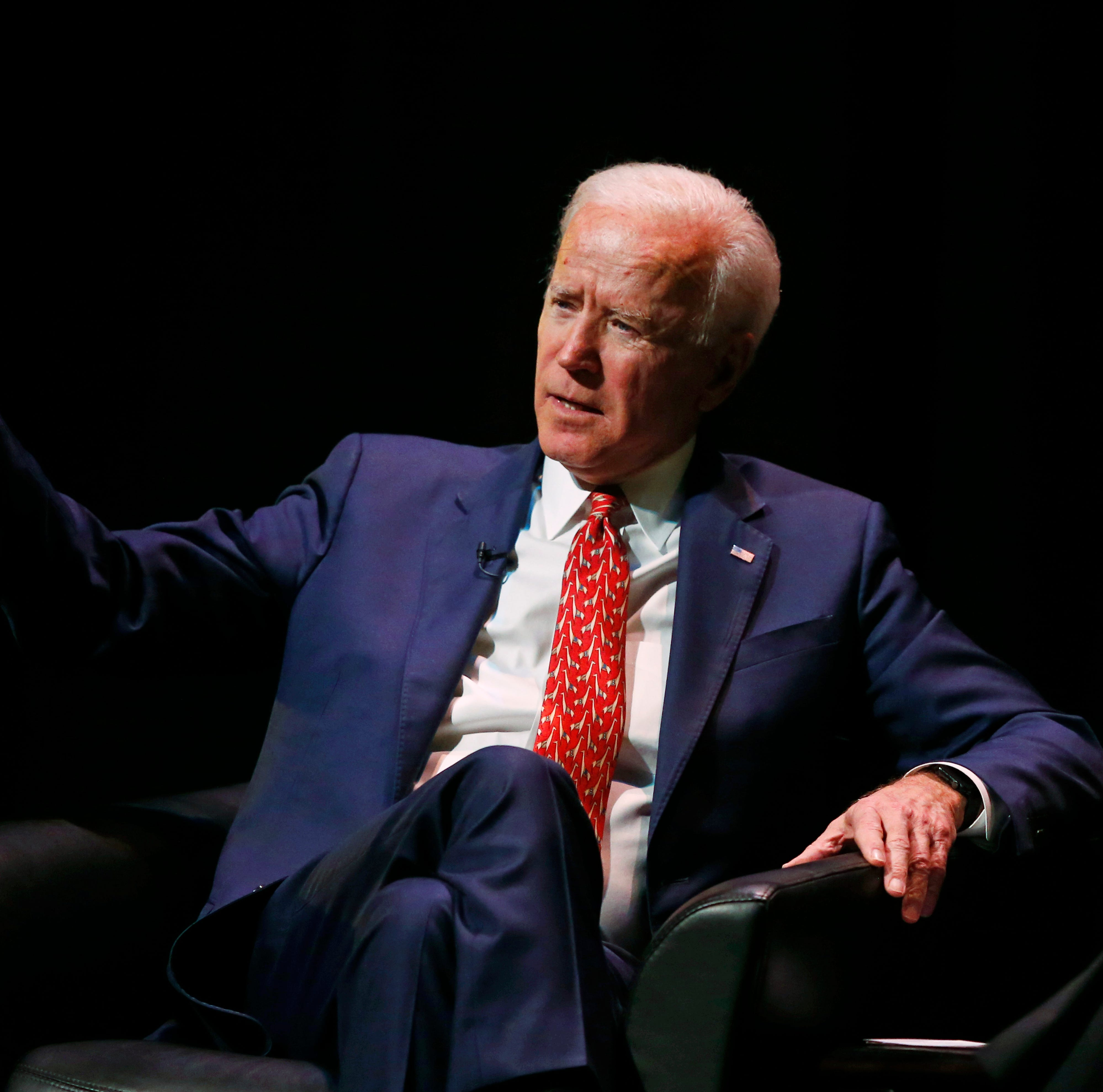 Former Vice President Joe Biden speaks at the University of Utah Thursday Dec. 13, 2018, in Salt Lake City. Biden says he initially refused to run with then-presidential candidate Barack Obama a decade ago, but his family ultimately convinced him he had to support an African-American candidate with a real chance of winning. Biden was greeted with a standing ovation when he spoke amid speculation about whether he'll launch his own campaign for president. He did not directly address the possibility of another run in the speech that marks his final public event for 2018. (AP Photo/Rick Bowmer)