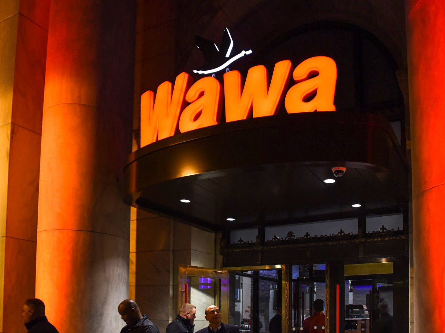 Doors at the Wawa open to the public at 8 a.m. on Friday, Dec. 14, with special giveaways for the first 200 customers. There's also free coffee all weekend.