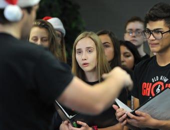 Wichita Falls High School Choir visits the TRN