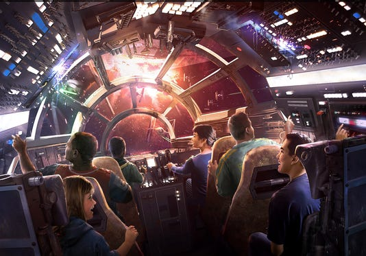 Millennium Falcon Smugglers Run Attraction