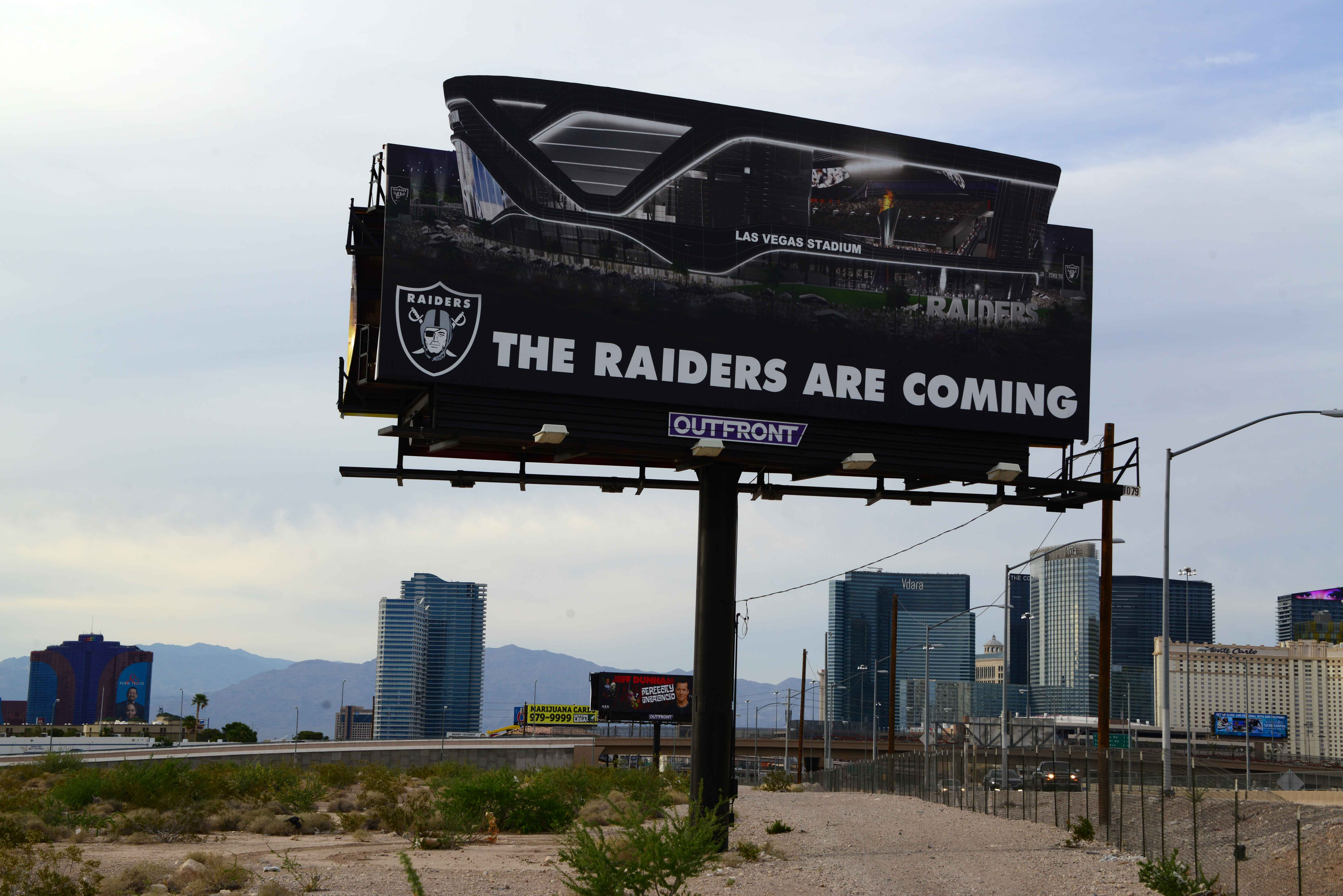 Raiders 2019 Home Possibilities Include Oakland Las Vegas San Diego