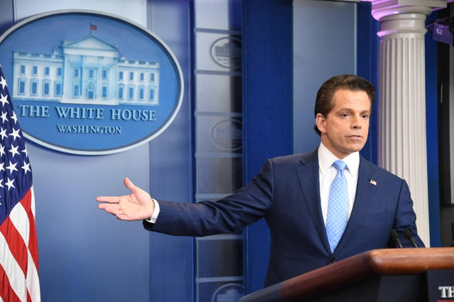 Anthony Scaramucci was a White House communications director in 2017.