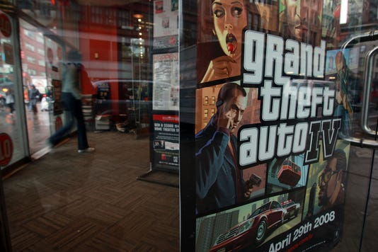 Gty Gaming World Awaits Release Of Grand Theft Auto Iv A Cgo Usa Ny