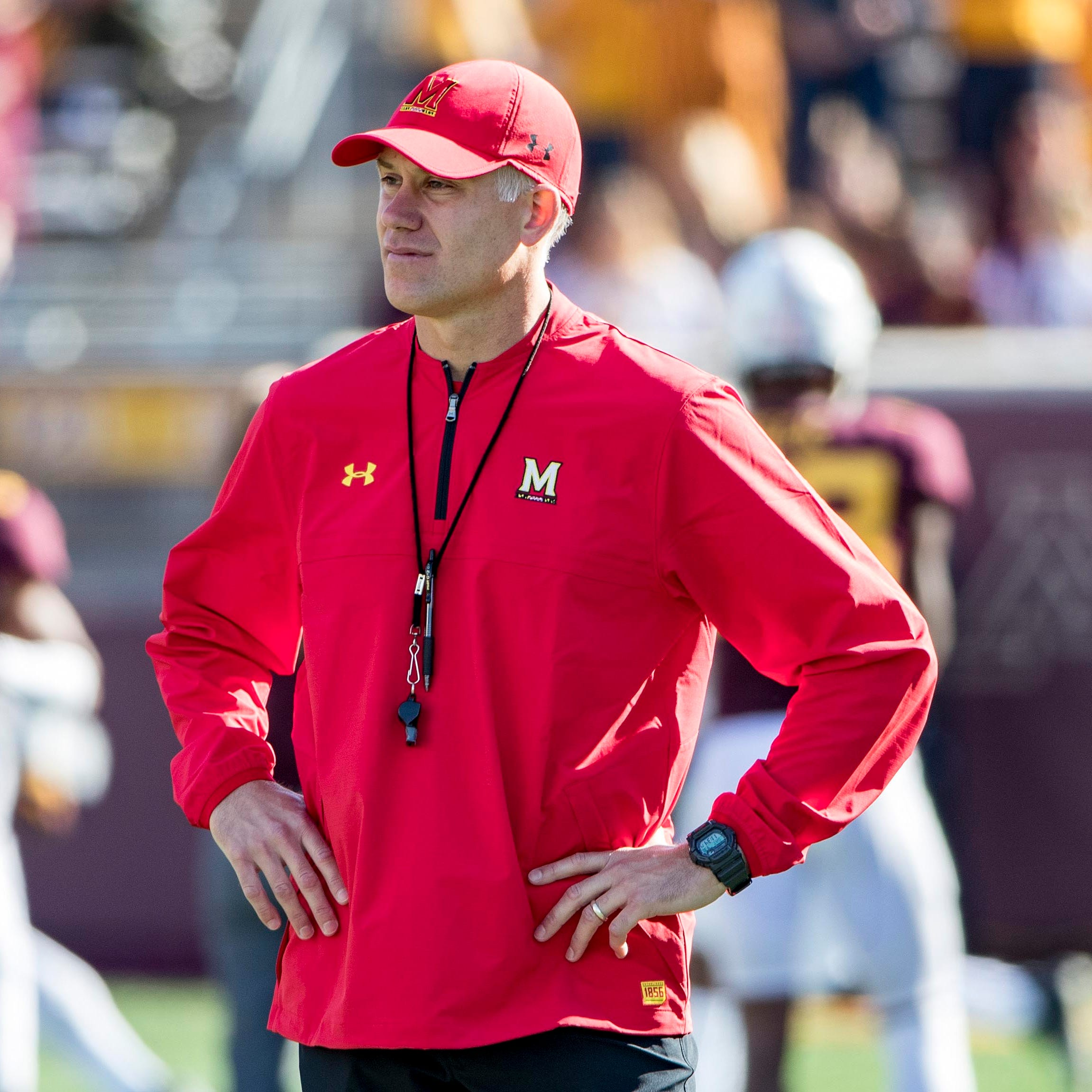 DJ Durkin was fired as coach at Maryland in...