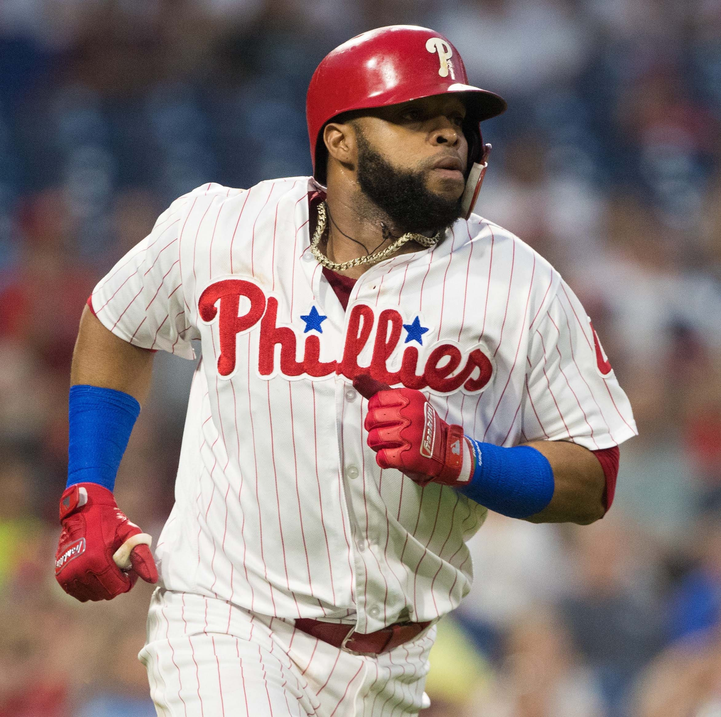 Carlos Santana spent 2018 with the Phillies and...