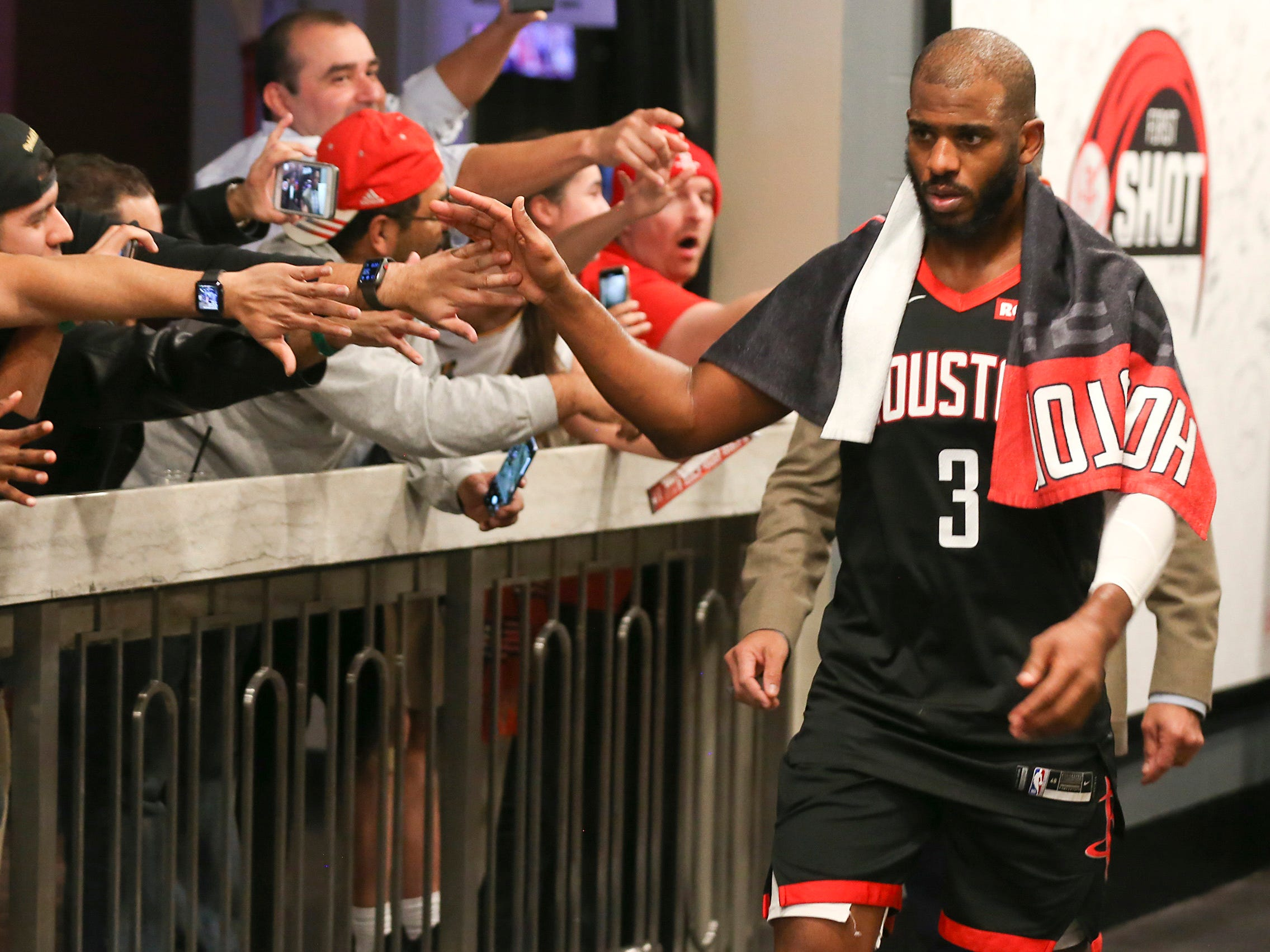 22. Chris Paul, Rockets (Dec. 11): 11 points, 11 rebounds, 10 assists in 111-103 win over Blazers.