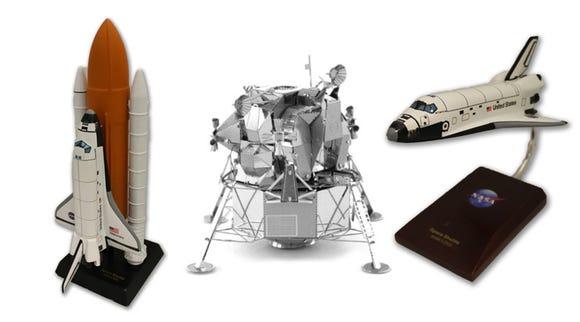 Kennedy Space Center Space Shuttle Model