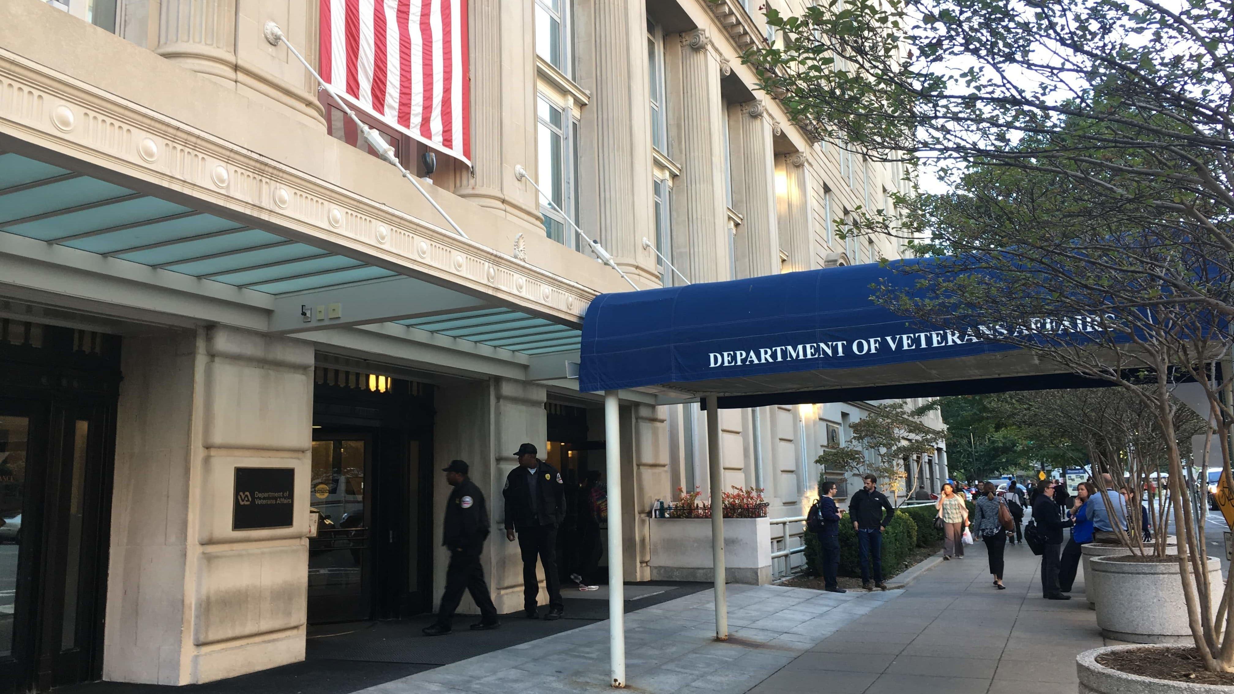 The Washington, D.C., headquarters of the Department of Veterans Affairs.
