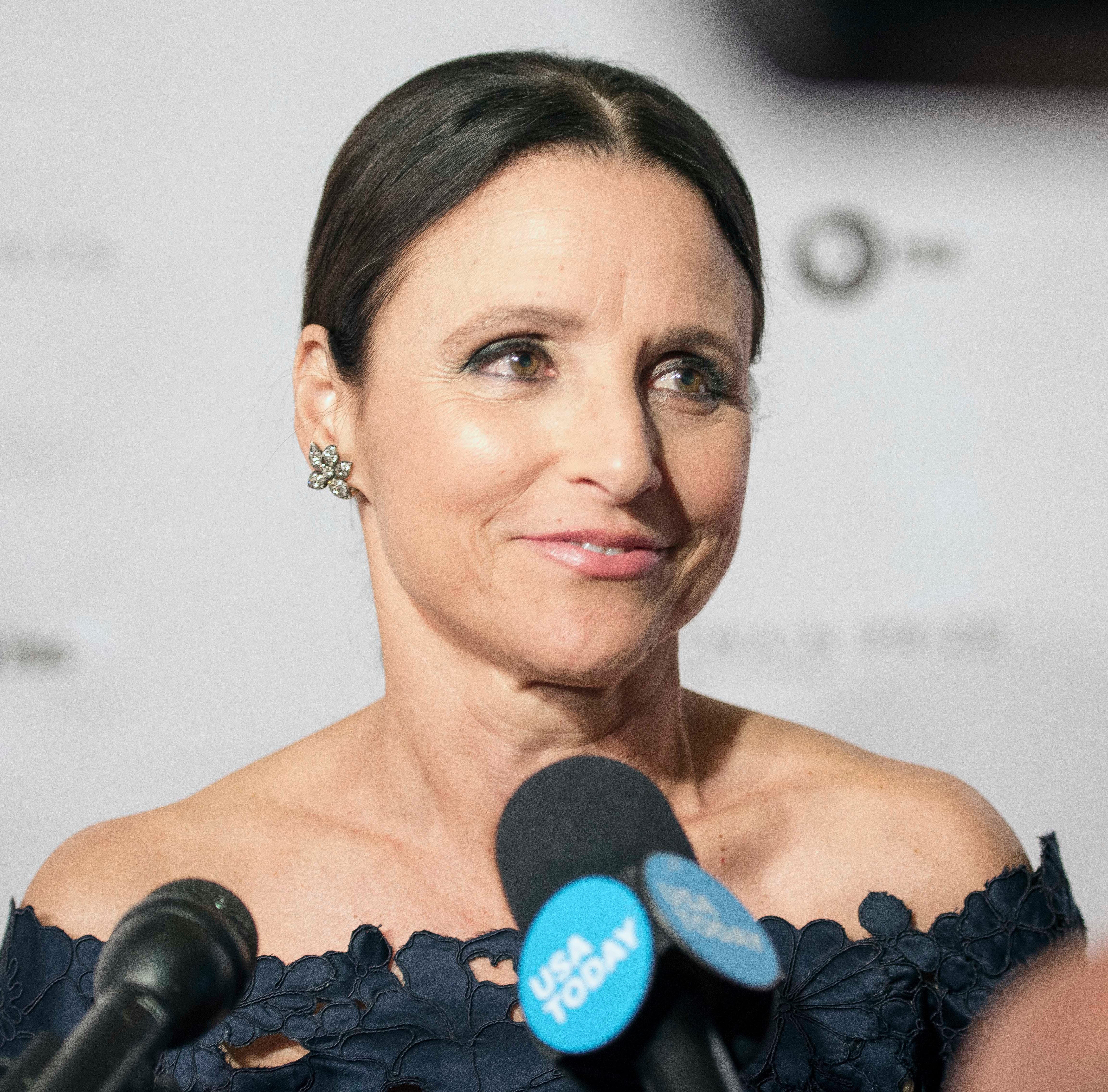 Julia Louis-Dreyfus received the Mark Twain Prize for American Humor and a pretty good roasting by her fellow celebrities at the Kennedy Center in Washington, D.C., in October.