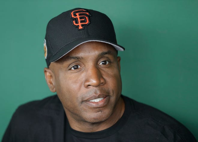 Barry Bonds on March 22, 2017.