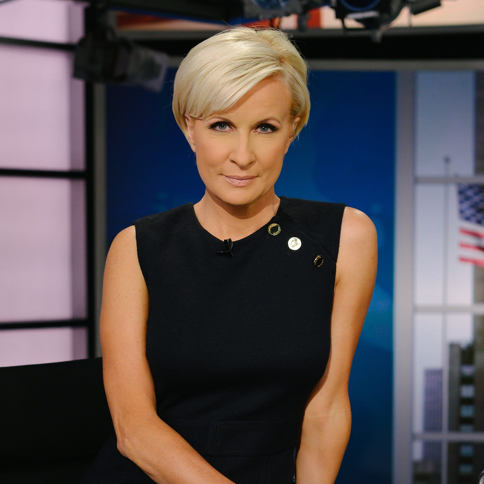 "Mika Brzezinski, co-host of MSNBC's ""Morning Joe""."