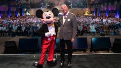 Bob Chapek, chairman of Disney parks, experiences and consumer products, revealed exciting details of new experiences coming to the parks during the Destination D event held for members of the D23 fan club in November at Disney World.
