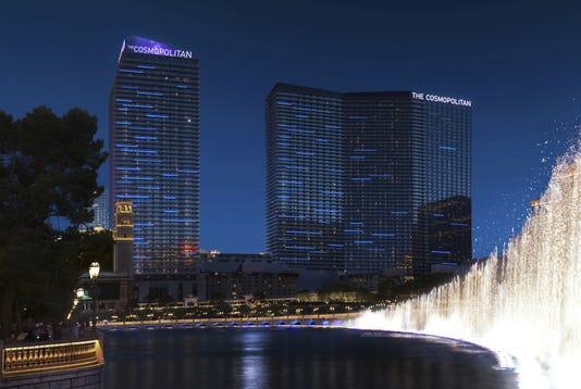 The Cosmopolitan of Las Vegas hotel