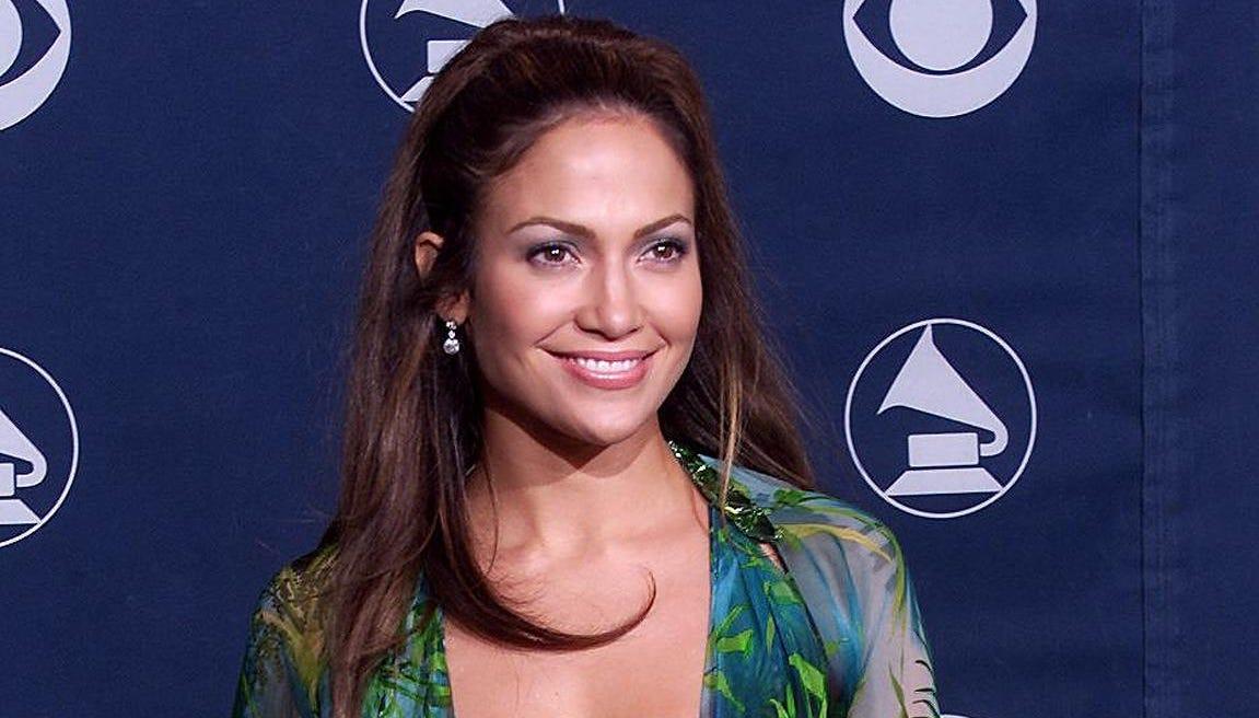 Jennifer Lopez wore the dress seen around the...