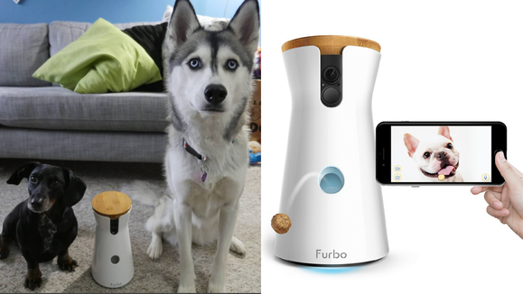 Anyone who has a pet will love this adorable, interactive camera.