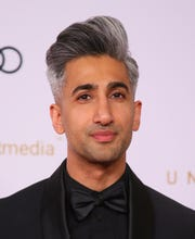 "English Fashion designer and TV personality Tan France from Netflix's ""Queer Eye."""