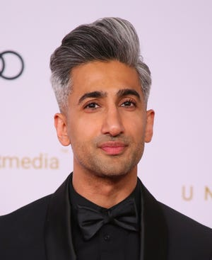 """English Fashion designer and TV personality Tan France from Netflix's """"Queer Eye."""""""