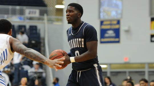 Monmouth redshirt sophomore guard Ray Salnave is averaging 23.2 points over the Hawks last two games.