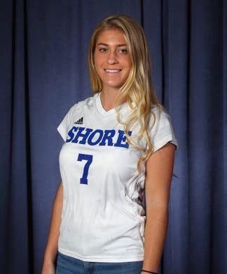 2018 All-Shore Girls Soccer. FRANKIE MCDONOUGH, Shore Regional. December 6, 2018, Neptune, NJ