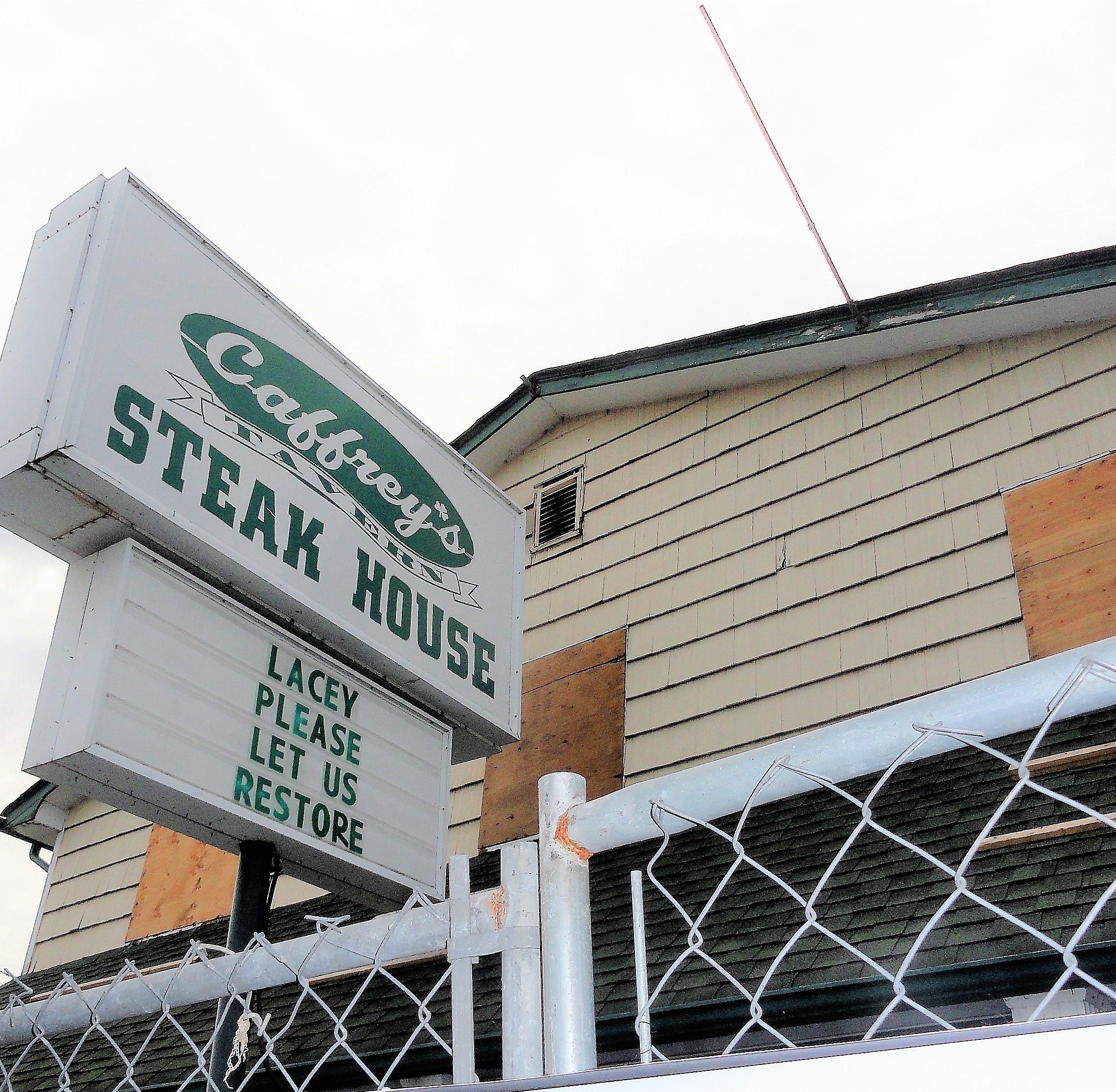 Caffrey's gets OK to rebuild in Lacey after devastating fire