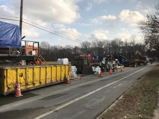 southern reliability link pipeline construction