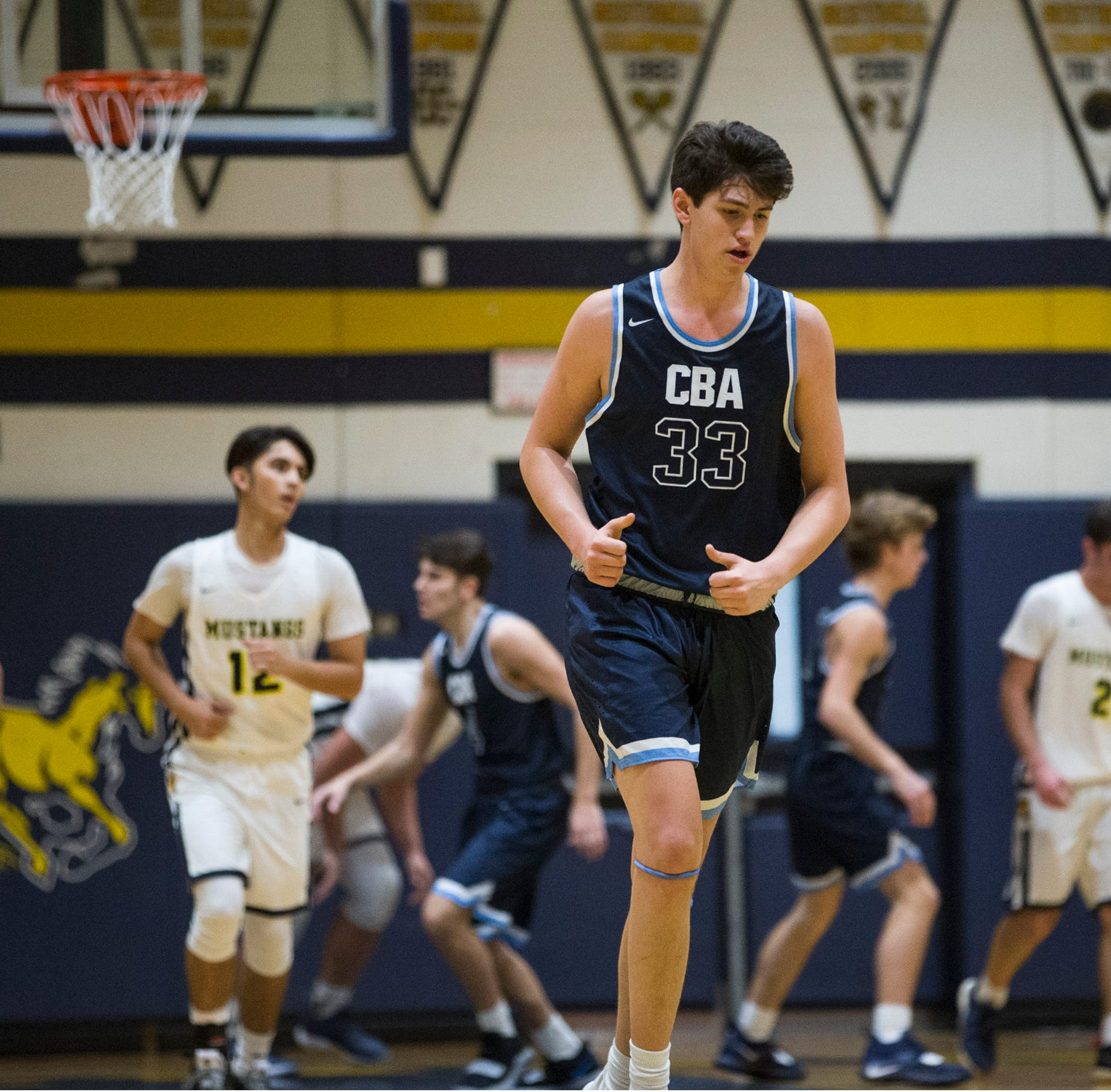 NJ boys hoops: CBA cruises past Marlboro on opening day