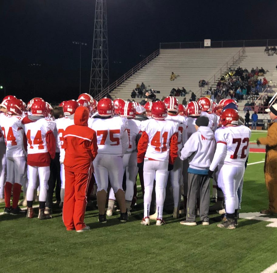 Albany vs. Gruver high school football playoff game live coverage