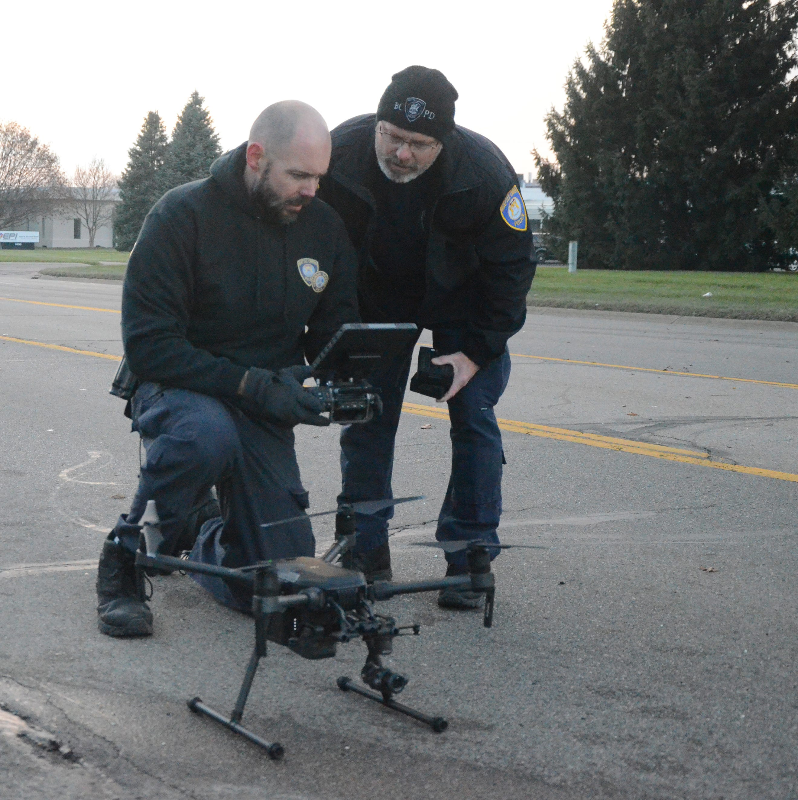 Battle Creek police are flying drones over crime, crash scenes