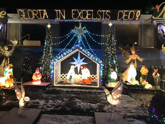 Buza's Christmasland was created by brothers Mark and Paul Buza at their family home.